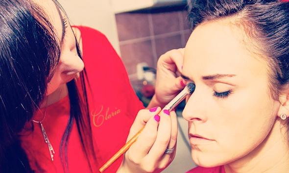 instytut zdrowia i urody claria chorzow lubliniec makijaz okolicznosciowy